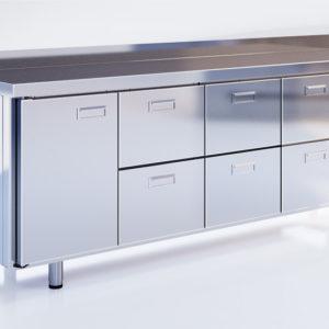 Шкаф-стол холодильный СШС-6,1