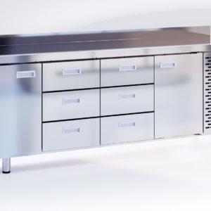 Шкаф-стол холодильный СШС-6,2