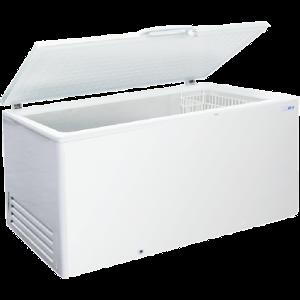 Лари среднетемпературные с прямыми раздвижными стеклами и глухой крышкой