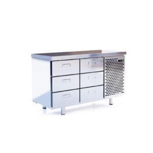 Стол-шкаф низкотемпературный с боковым